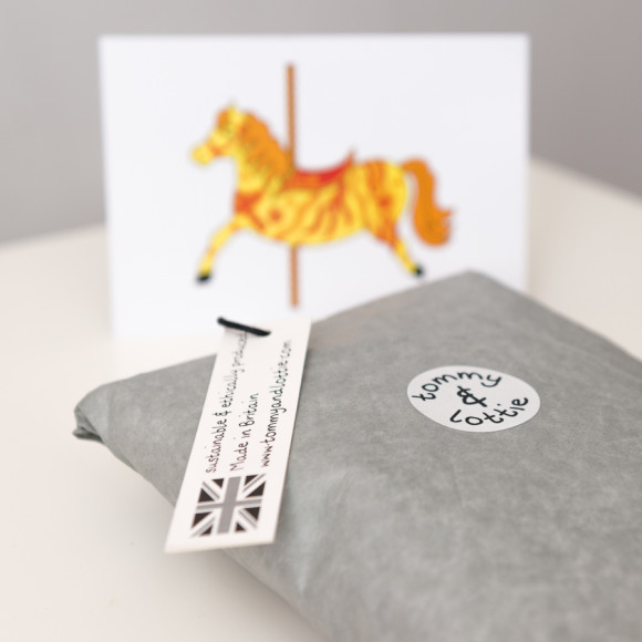 carousel horse packaging