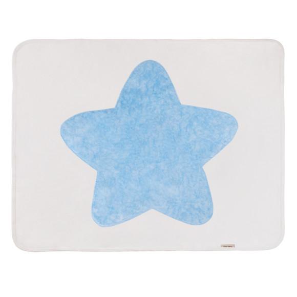 baby Blue Star Blanket