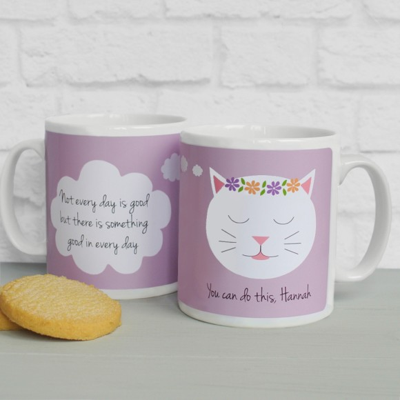 'Not Every Day...' quote mug Dusky Rose