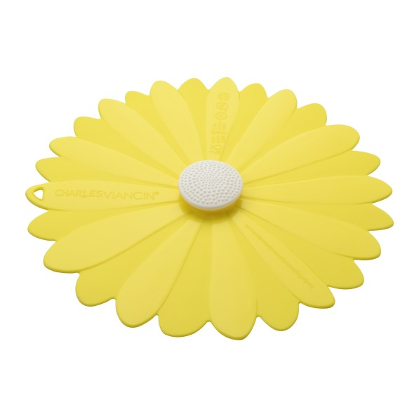 Daisy Yellow Lid