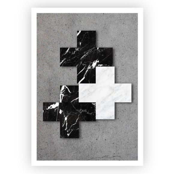 Marble Crosses