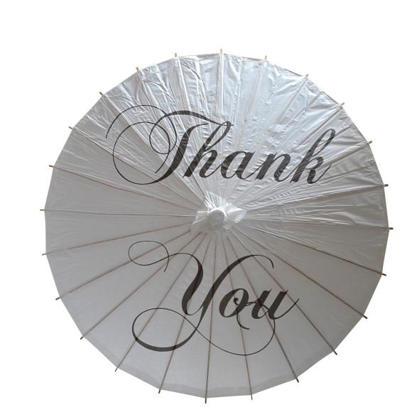 Paper Wedding Parasol