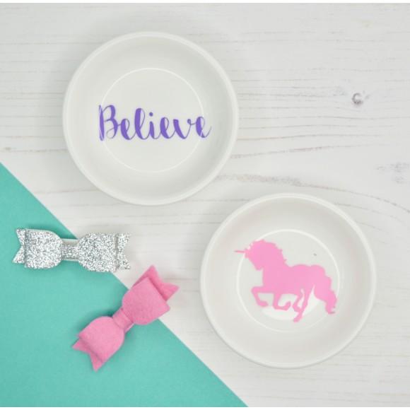 Unicorn or Believe Dish