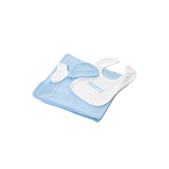 Cool Blue Baby Gift Set