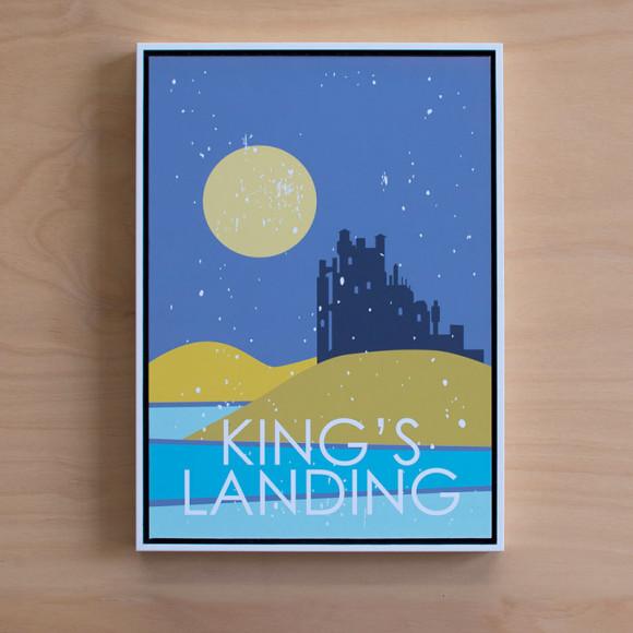 Kings Landing in White Floater