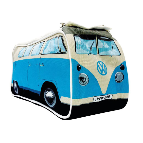 VW Campervan wash bag blue