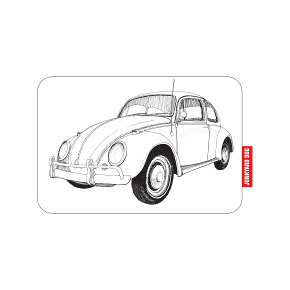 VW Beetle men's tee