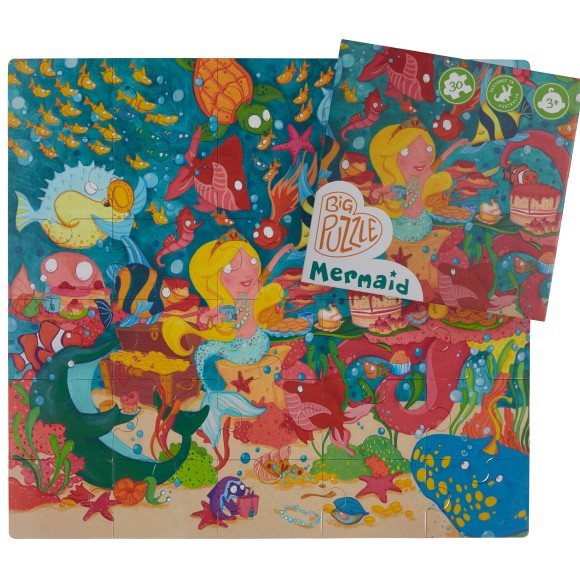 glottogon 30 piece floor puzzle