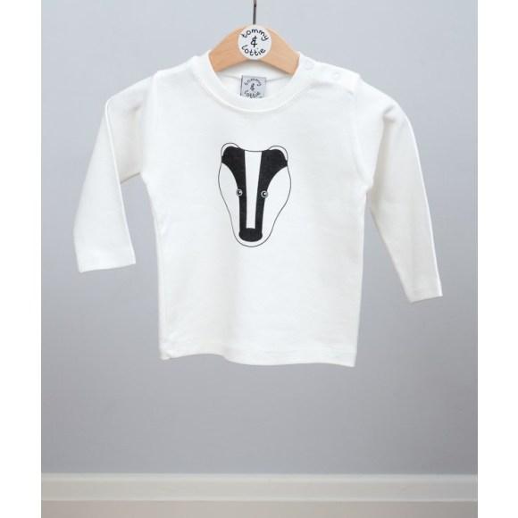 baby long sleeve badger t shirt