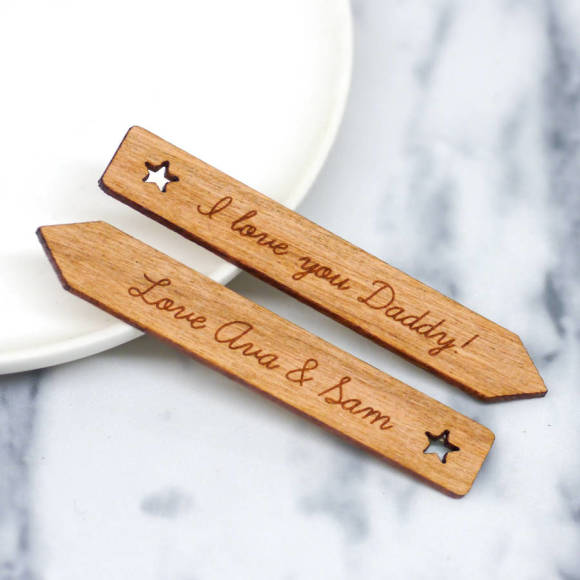 personalised star collar stiffeners
