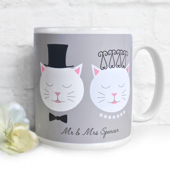 Personalised Frida Wedding Mug