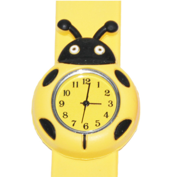 Ladybug slap watch
