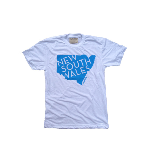 White NSW T-Shirt