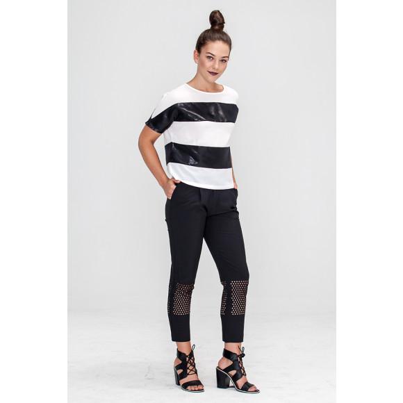 Light Weight Stripe Blouse