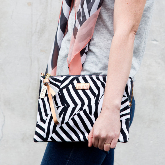 Zebra Large Pouch