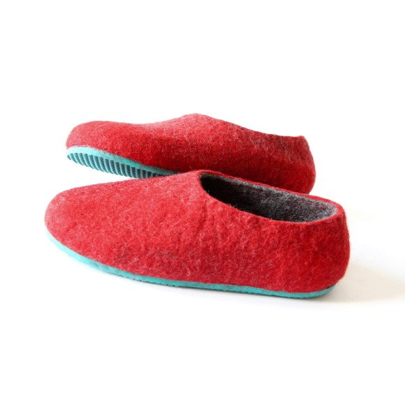 two tone slippers