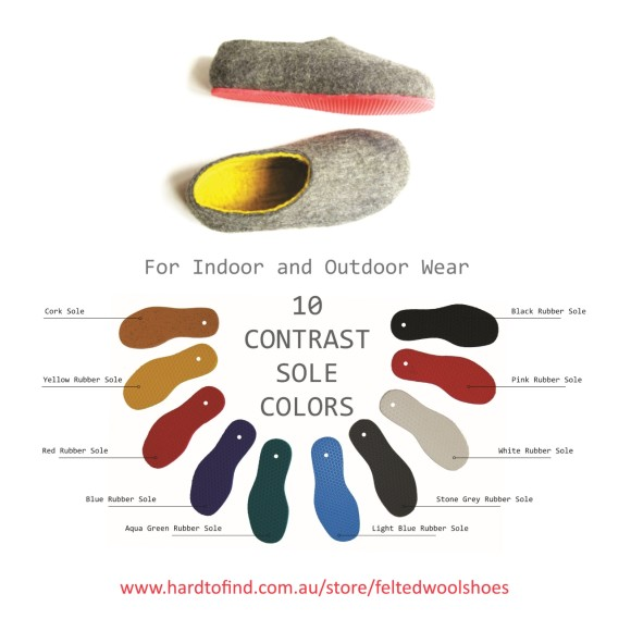 outsole colors