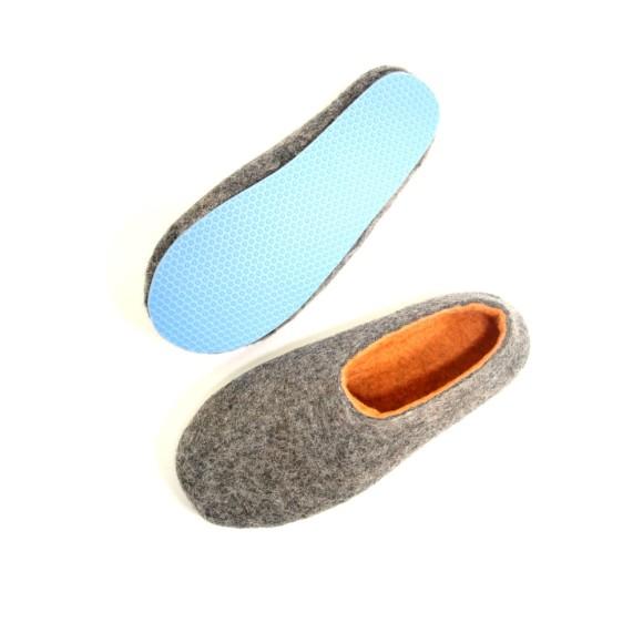 pastel blue sole