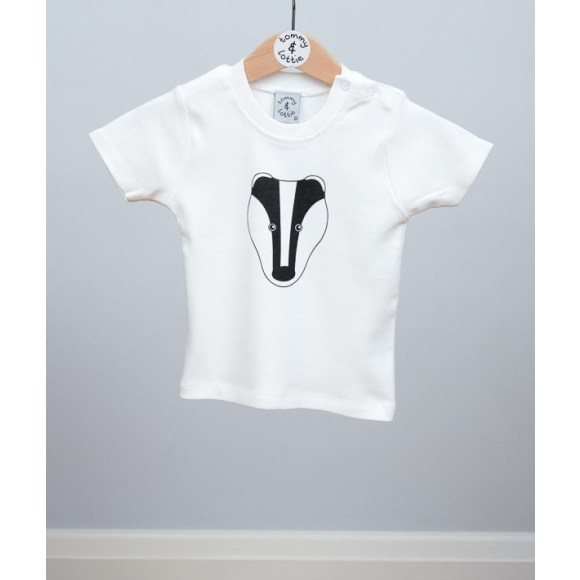 baby short sleeve badger t shirt