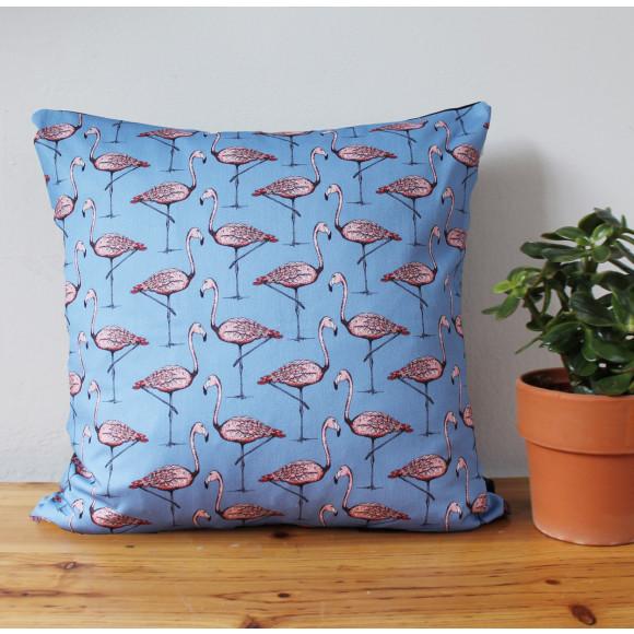 Flamingo Cushion Lifestyle