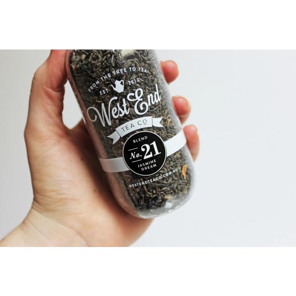 Organic Jasmine Green Tea West End Tea Co.