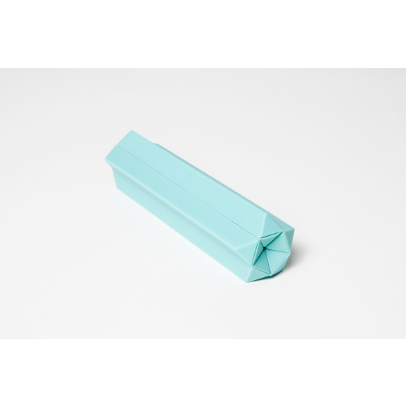 Folding Flip Trivet in Turquoise- Folded Up