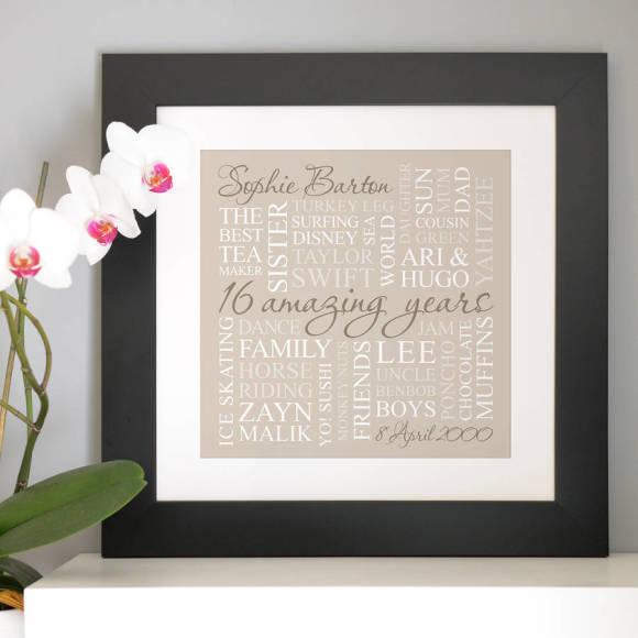 chunky frame neutral print