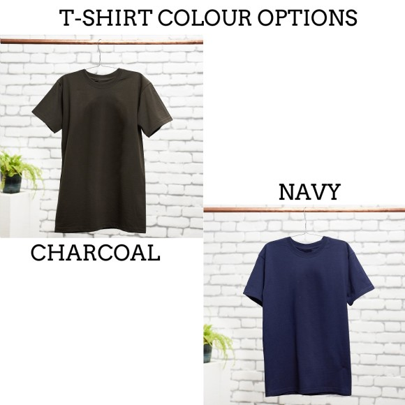 T-Shirt Colour Options