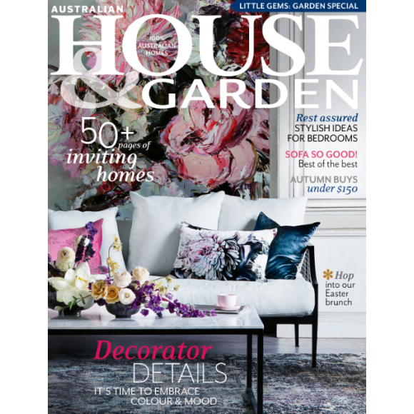 Australian House Garden 12 month magazine subscription hardtofind