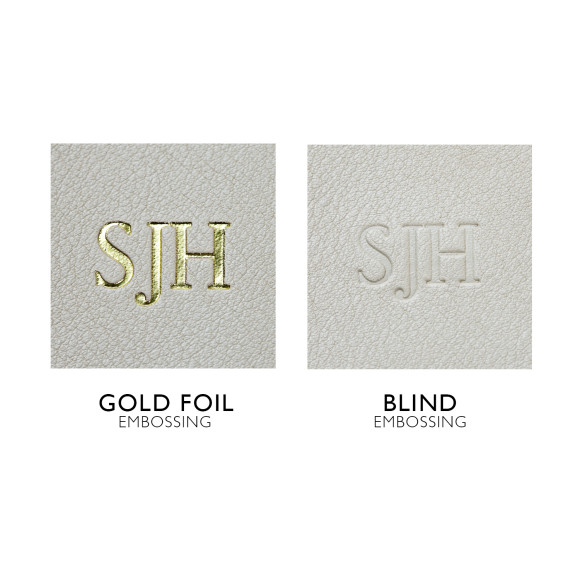Gold & Blind embossing