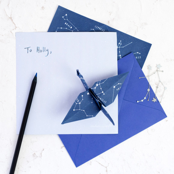 Star Constellations Map Origami Sheets