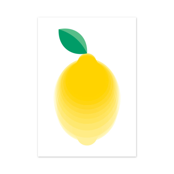 Eureka Print Lemon Art Print