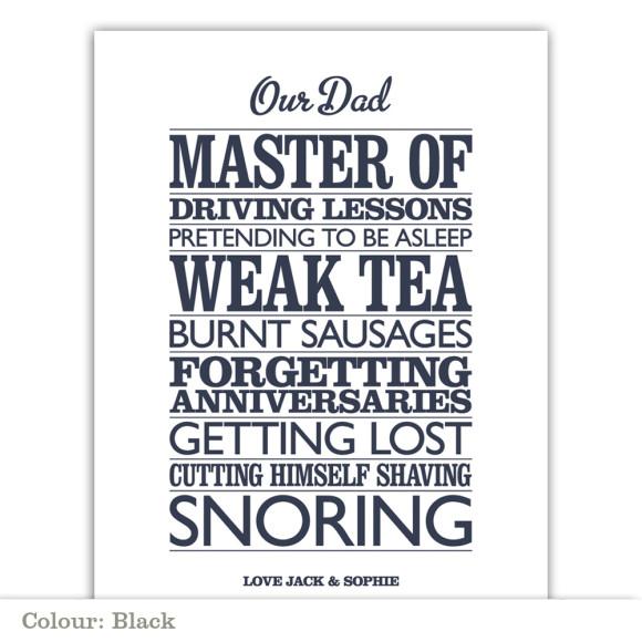 Master Of - Black