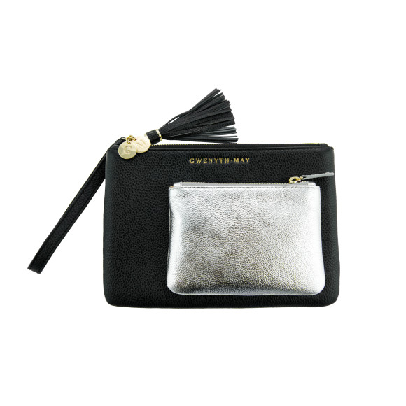 The Gia coin purse - silver