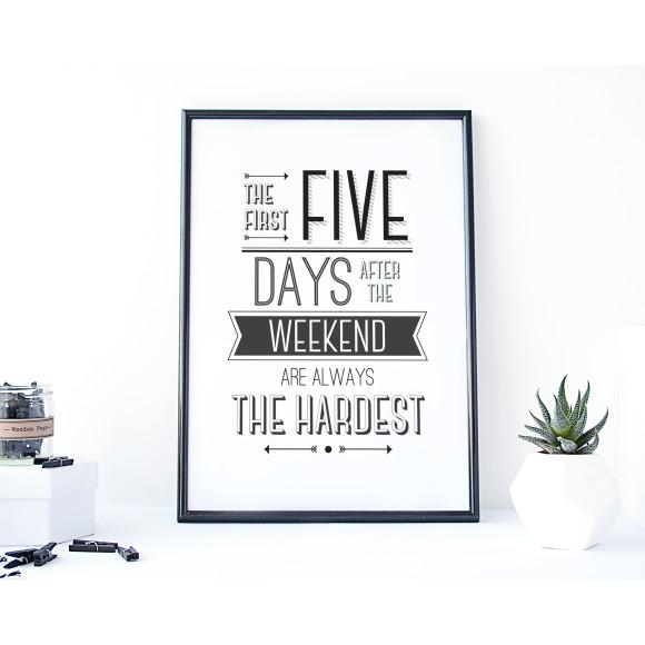 Weekend Lovers Print