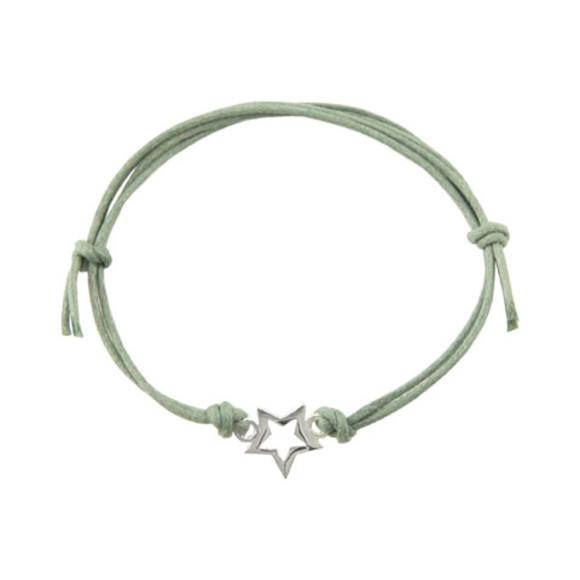 Sterling star bracelet