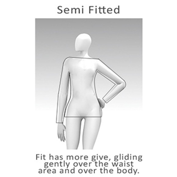 How Semi Fitted looks on me?