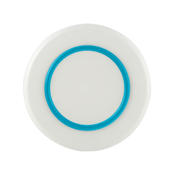 White with Blue non-slip ring