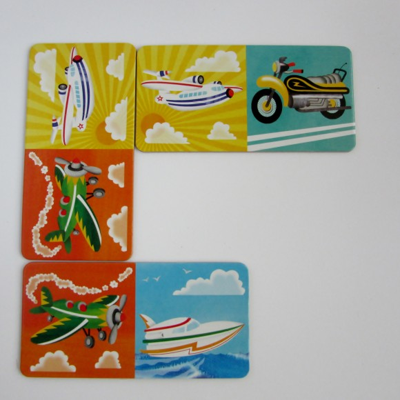 planes & boats picture dominoes glottogon