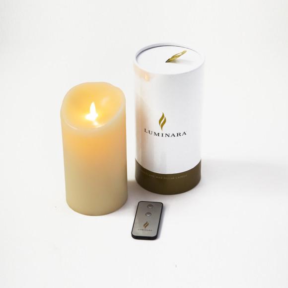 Luminara candle, box and remote