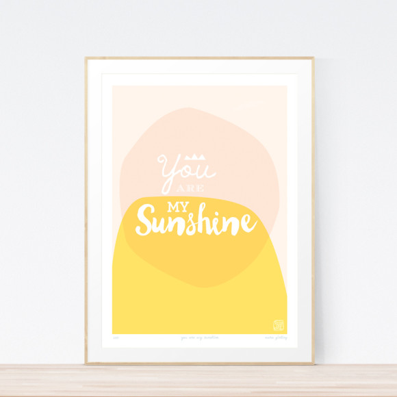 Sunshine Art Print Framed