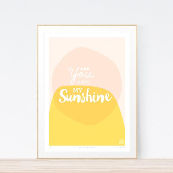 Sunshine Art Print Framed