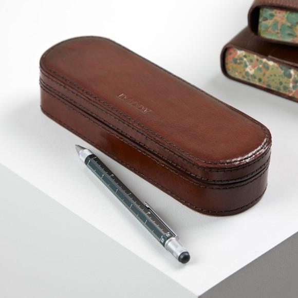 Pen Box with dark stitch