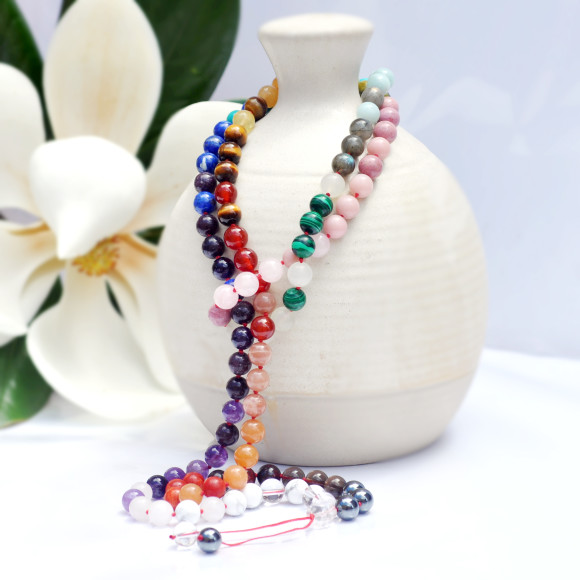 real crystal mala