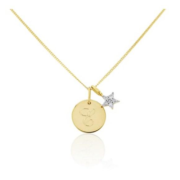 Gigi Pendant with Diamond Star Pendant