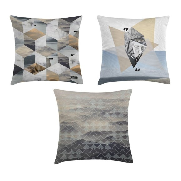 Set of 3 Saltwater cushions