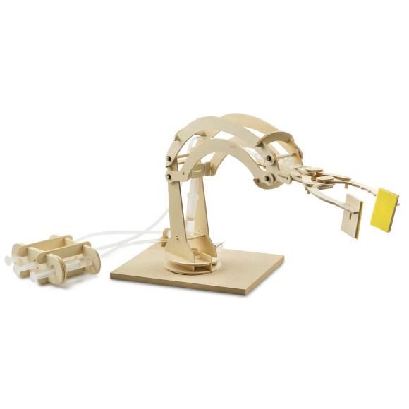 Marbles Hydraulic Robotic Arm