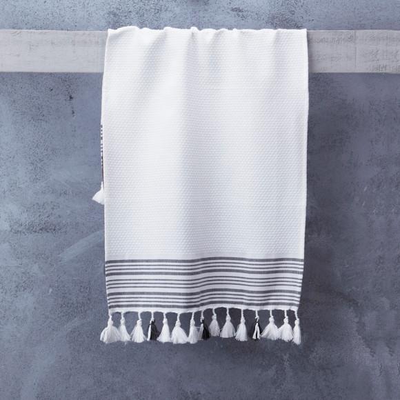 White - Classic Stripe