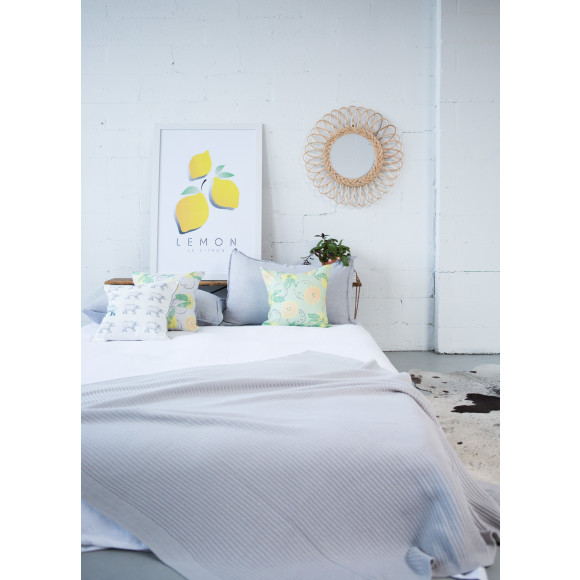 Millie Archer Melbourne Cotton Throw and Cushions
