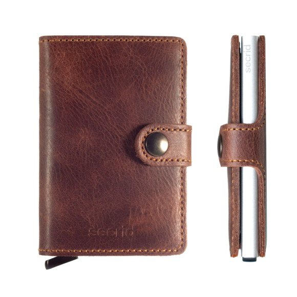 Vintage Brown, silver case